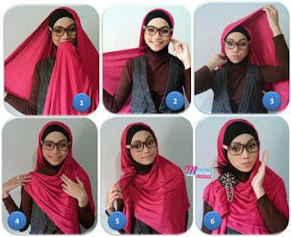 Tutorial Hijab Praktis #1 - Dorie Shop