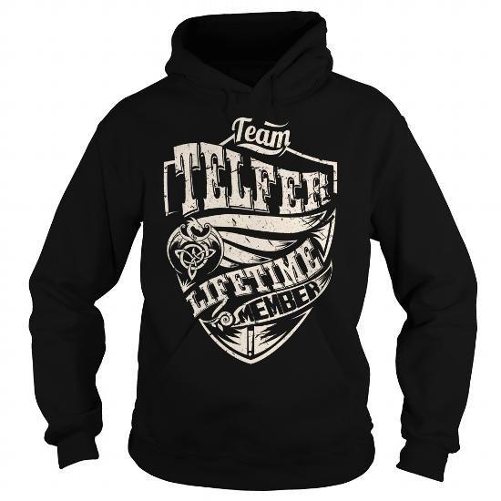 Team TELFER Lifetime Member (Dragon) - Last Name, Surname T-Shirt - #diy gift #gift basket. Team TELFER Lifetime Member (Dragon) - Last Name, Surname T-Shirt, bridesmaid gift,mens shirt. WANT THIS =>...
