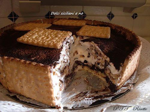 Torta di biscotti con cioccolato e mascarpone   Ricetta