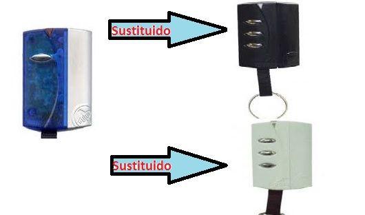 Sustitutos de los mandos descatalogados azules de pujol por los modelos Black y White