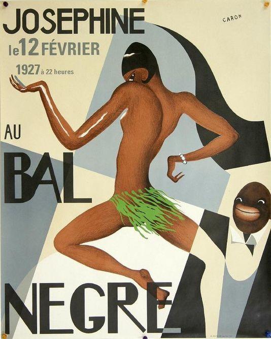 Le salle parisienne Bal nègre ouvrira sous un autre nom  Josephine Baker poster