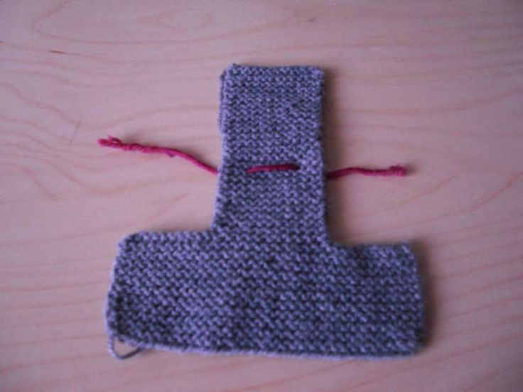 Chaussons tricotés (ultra facile)