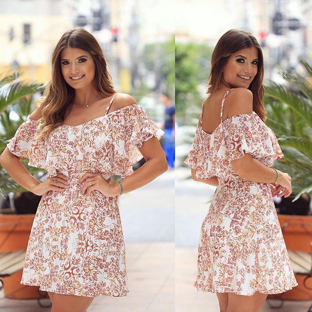 Vestido lindo de babados @doceflorsp ❤️ Lançamento mais lindoooo de verão! Apaixonada por tudo ❤️