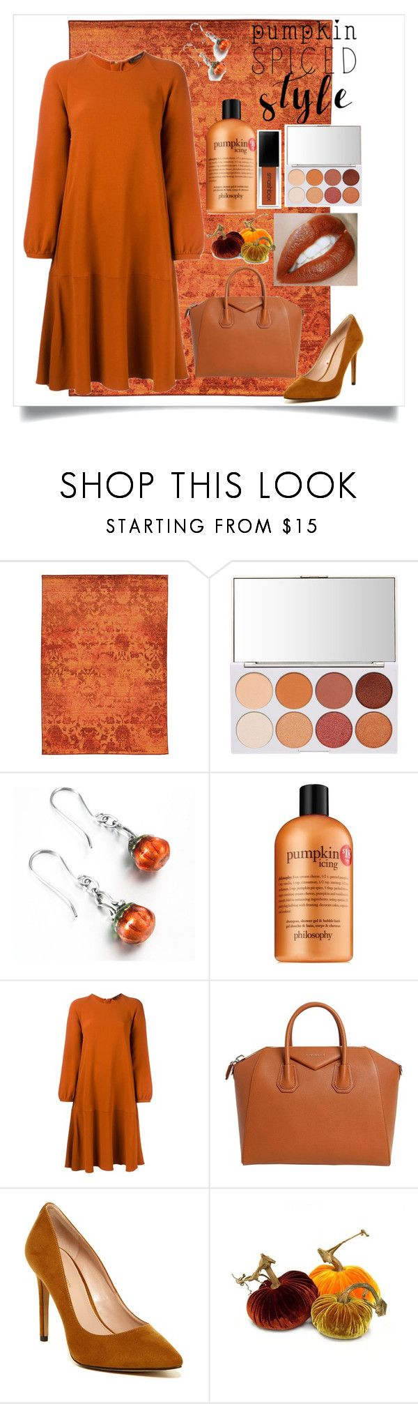 """Pumpkin Spice 🎃"" by heythatsalya ❤ liked on Polyvore featuring Pantone Universe, philosophy, Odeeh, Givenchy, BCBGeneration and PearlsandLace"