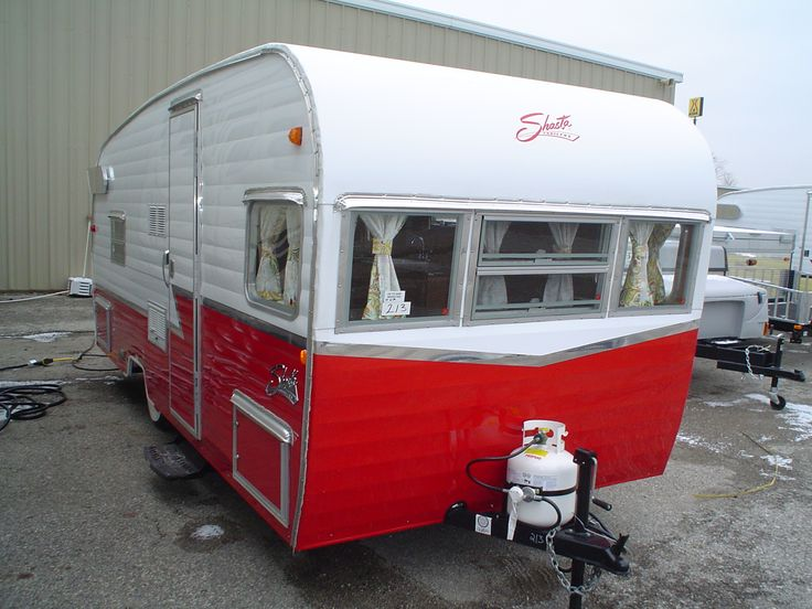 Shasta airflyte 19 retro travel trailer on pinterest retro trailers