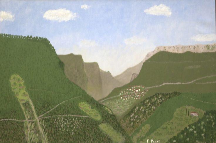 Giorgos Rigas, 'Mountain Village'