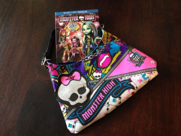 Enter to WIN a copy of Monster High Freaky Fusion on the blog now. #Movie #CANwin