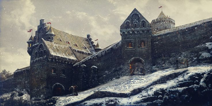 ArtStation - Castle Gates, Vilius .