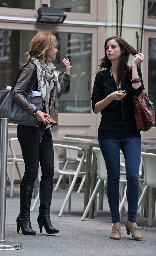Street Style Emma Watson Emma Watson Style Pinterest