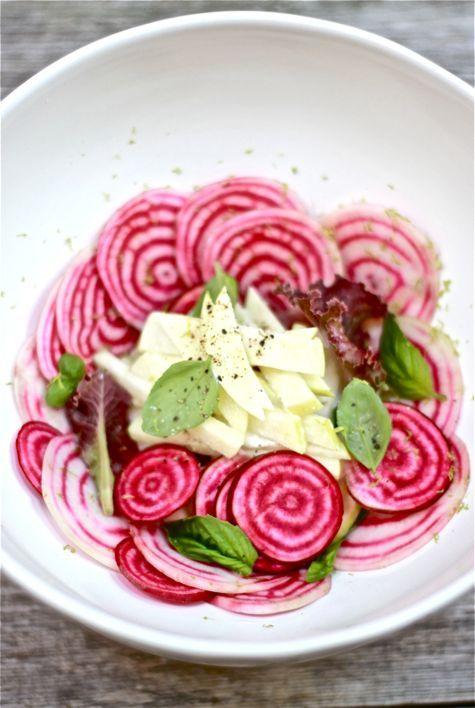 Raw Beet and Apple Salad