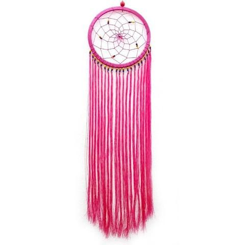 Pink String Dream Catcher - The Hippie House