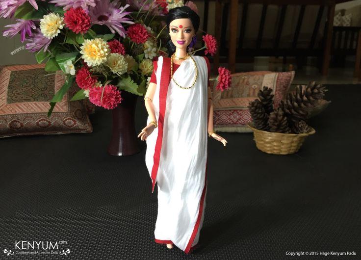 Barbie in Bengali Saree
