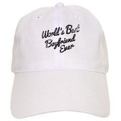 Worlds best boyfriend Baseball Cap> World's Best Boyfriend> Victory Ink Tshirts and Gifts