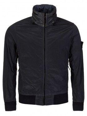 Stone Island Grey Crinkle Tyvek Shield Jacket