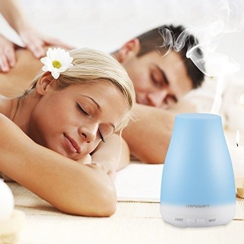Essential Oil Diffuser New LED Version Aroma Essential Oil Cool Mist Humidifier #URPOWER