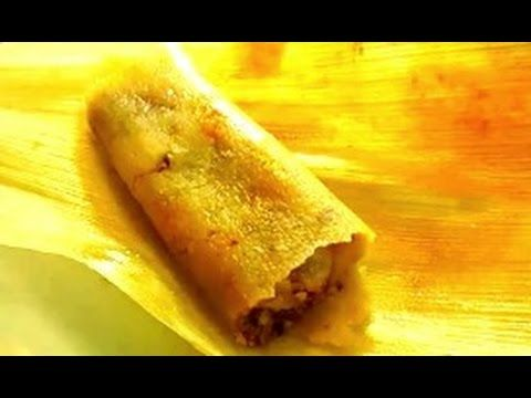 How to make Tamales - Easy Homemade Tamale Recipe - YouTube