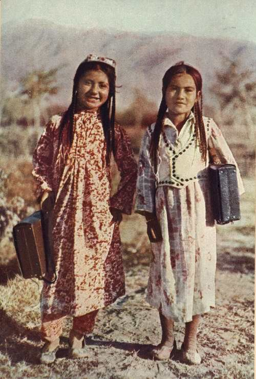 Girls from Uzbekistan back then