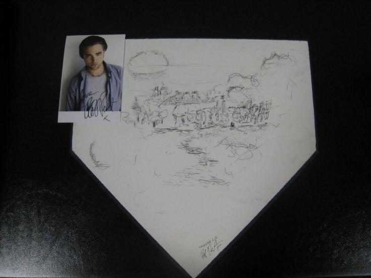 Robert Pattinson Artwork for Arizona Diamond Back Charity - TwiFans-Twilight Saga books and Movie Fansite
