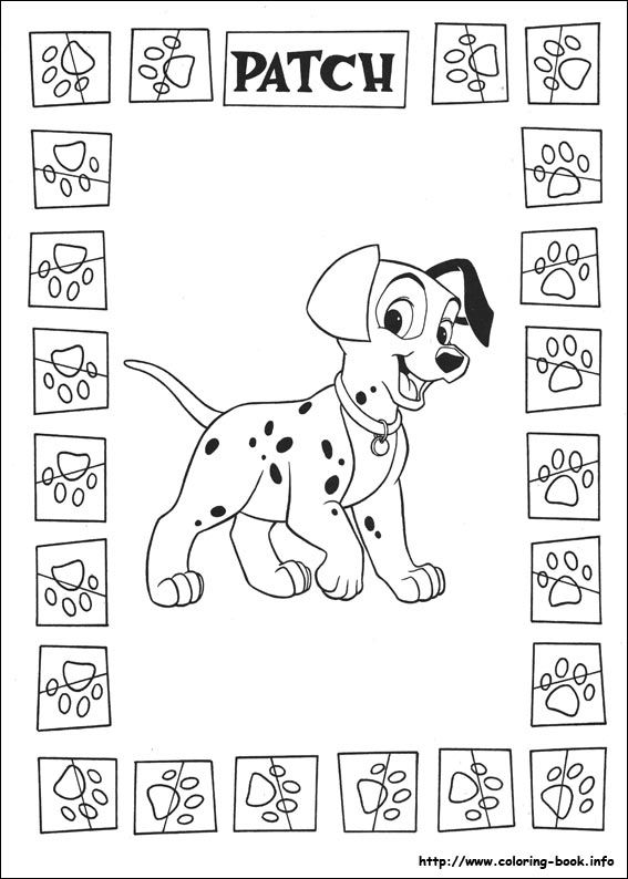 197 best 101 Dalmations coloring pages images on Pinterest