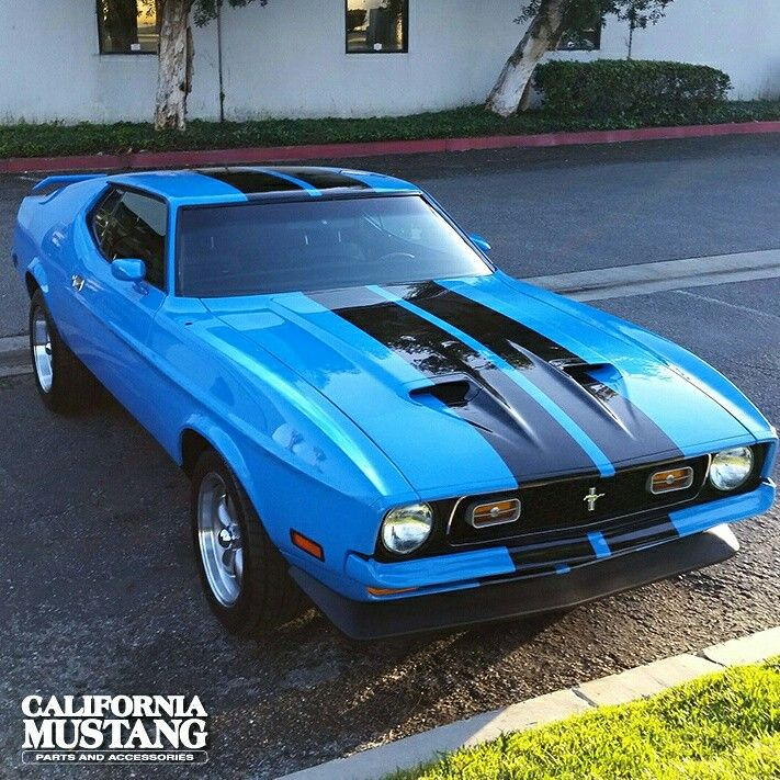 1971 mach1 grabber blue classic industries customer 39 s. Black Bedroom Furniture Sets. Home Design Ideas