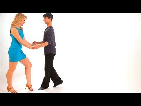 How to Dance a Triple Cha-Cha Lock Step   Cha-Cha Dance - YouTube