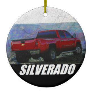 2013 Silverado 3500HD Crew Cab LT Texas Ed Dually Ceramic Ornament