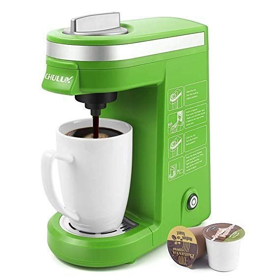 Chulux Single Serve Coffee Maker Coffee Maker Machine Single Cup Coffee Maker Single Coffee Maker