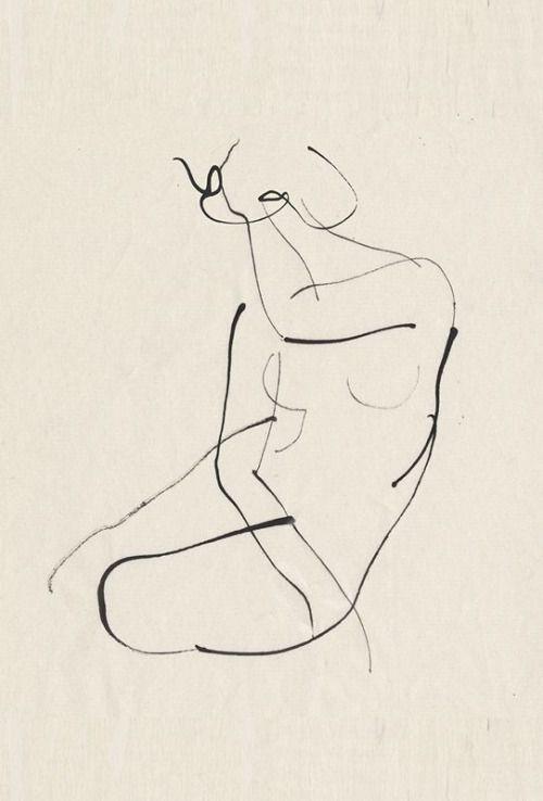 Corpo humano em linhas, de Aurore de La Morinerie