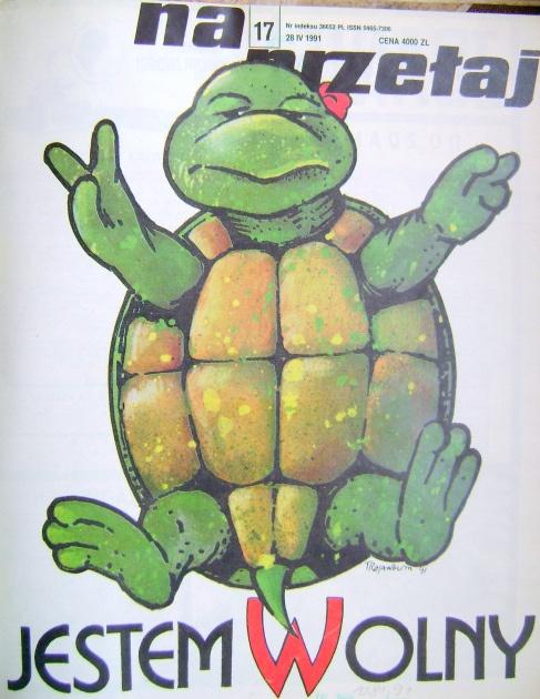 Cover of children's magazine.