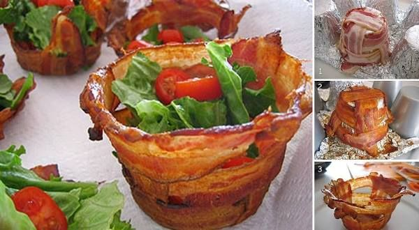 """Bacon has been forever one of world's favorite ingredients. As the age of men evolves so has the ingredient, nowadays, there are plenty of pioneering ways of using bacon that have been realized and """"bacon cups"""" is one of them.Now instead of opting for either bread or tortilla as the main shell for the food …"""