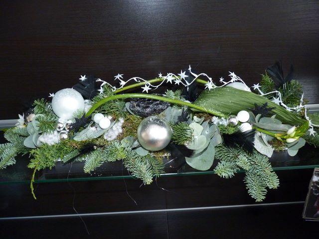 Afbeeldingsresultaat voor langwerpig tafelstuk kerst