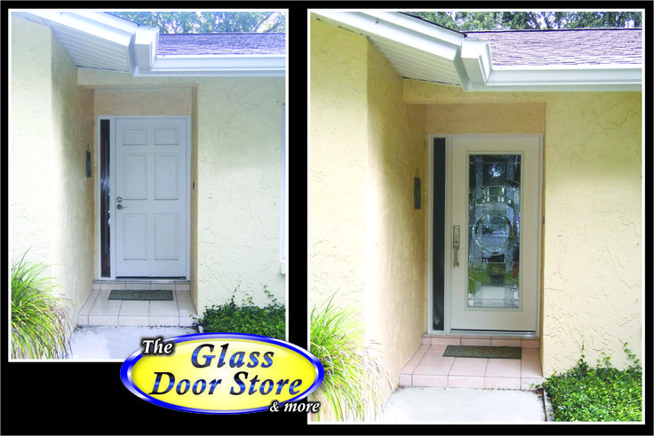 17 best images about installing new front doors on pinterest for Front doors that let in light