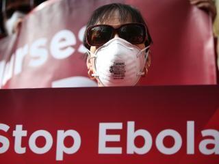 Amerykańskie pielęgniarki demonstrują przeciwko eboli #popolsku