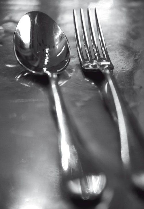 Dutch DigiWalls Fotobehang 2023 Cutlery