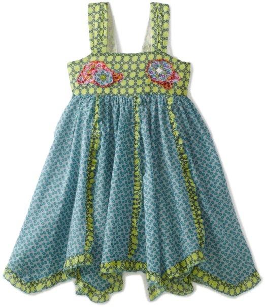 Amazon.com: MIMI & MAGGIE Girls 2-6X Kids Sunset Beach Twirl Dress: Clothing