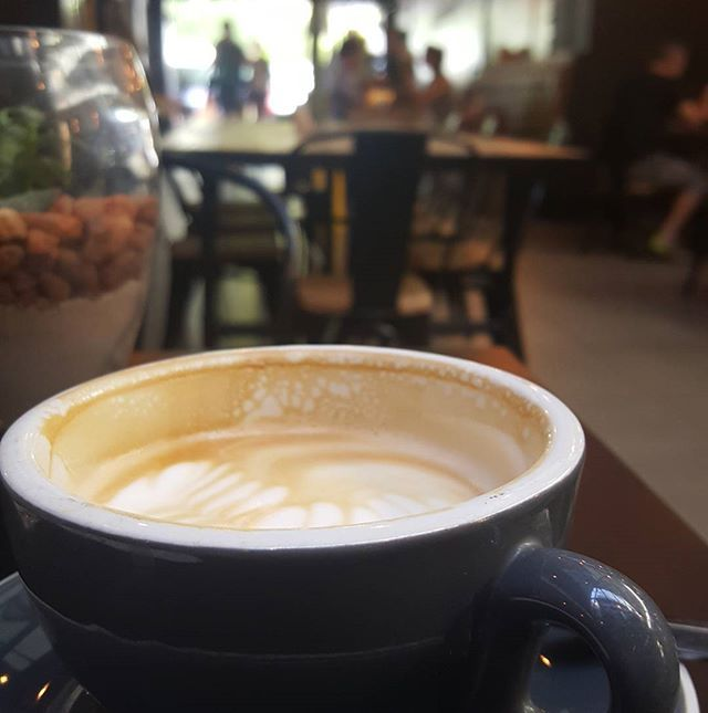 "Having a Saturday ""me-day"" breakfast and good coffee at Jarryds #happyweekend #capetown"