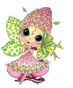 17 Best Images About Big Eyed Girls On Pinterest Coloring Facebook And Digi Stamps