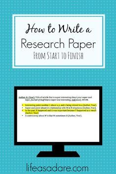 Research papers can be daunting, but they don't need to be! Here is EVERYTHING you will ever need to know about how to write a research paper for your class! Great tips! #college #study #research