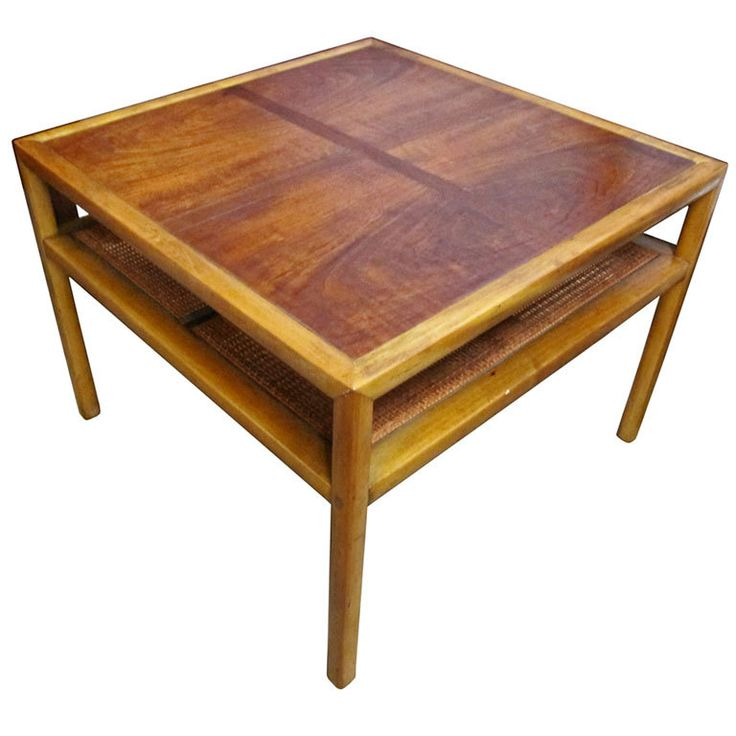 1stdibs   Square Cocktail Table by Michael Taylor for Baker Furniture