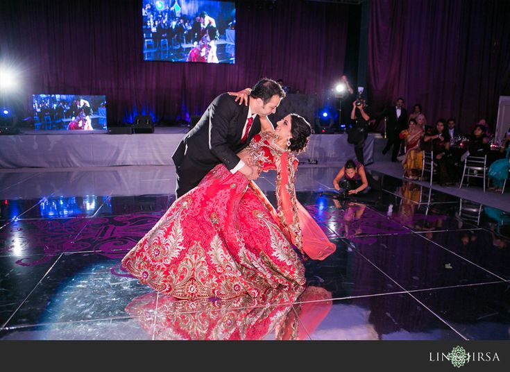 Beverly Wilshire Beverly Hills Indian Wedding Reception | Yuvi and Harleen