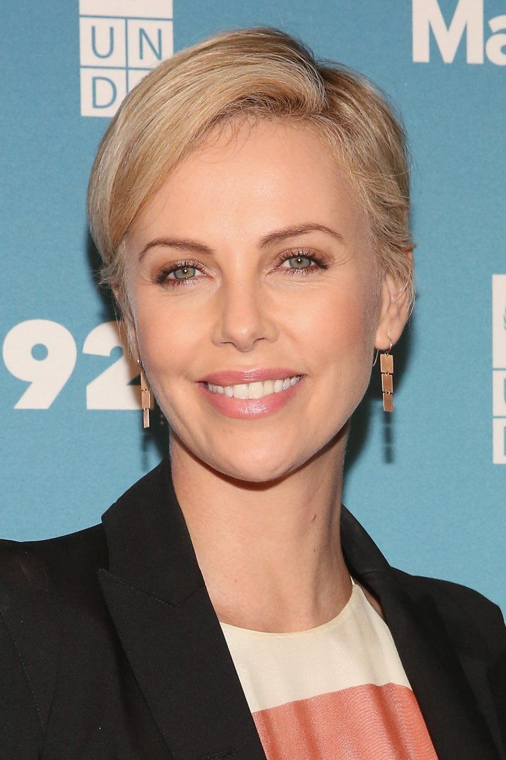 Pin for Later: 22 Celebrities You Didn't Know Were Only Children Charlize Theron