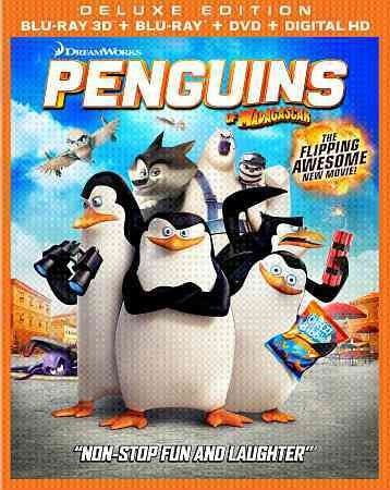 Penguins Of Madagascar-Movie (Blu-Ray/3D/Dvd/Dhd) (3-D) (3-Discs)