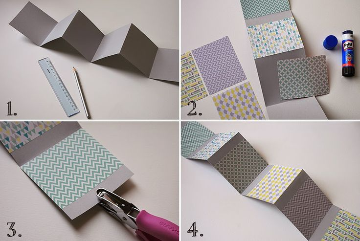 Bluebells Design - DIY: un mini album per piccole fotografie