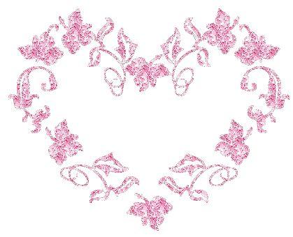 beautibul animation hearts  | صور قلوب متحركة متوهجة 2013 Animated hearts glowing