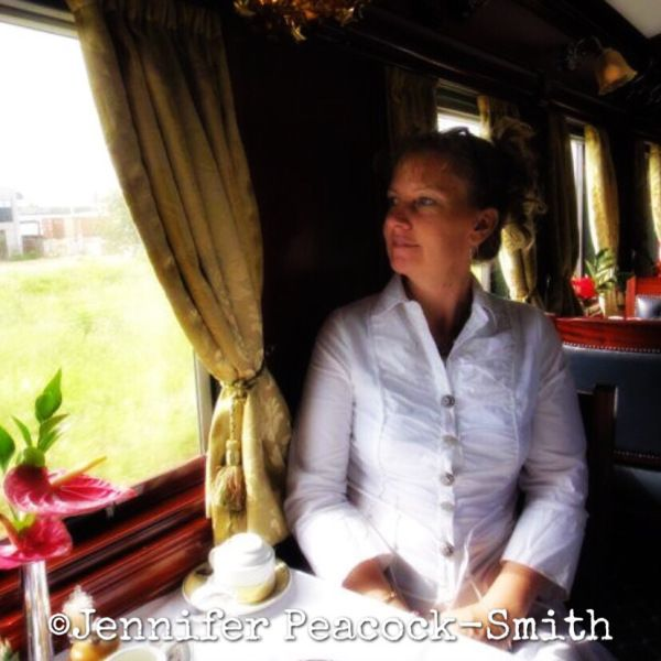 I loooove train rides. Especially sleeping trains. They are my passion and my favorite place in the world to be. My writing for me is very much a series of train trips as it is all about the variou…