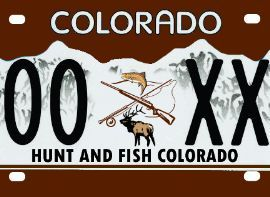 17 best images about fishy license plates on pinterest for Fishing license colorado