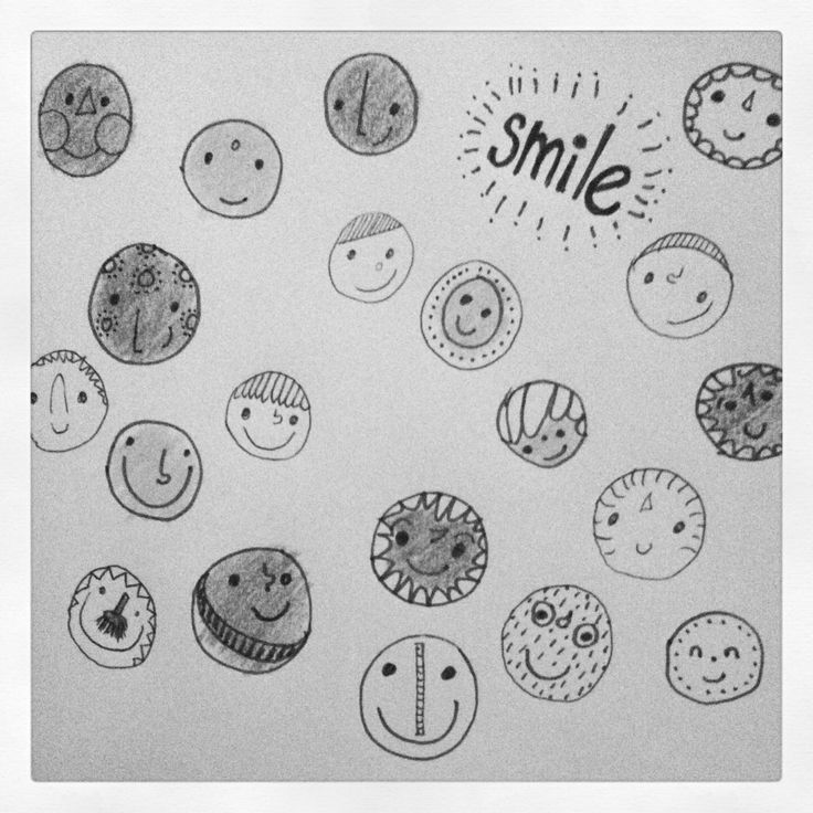 Smile! Droedels...