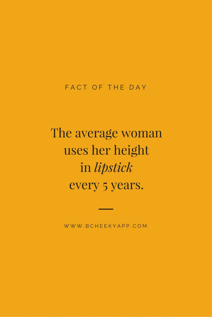 Fact of the Day #bcheeky www.bcheekyapp.com