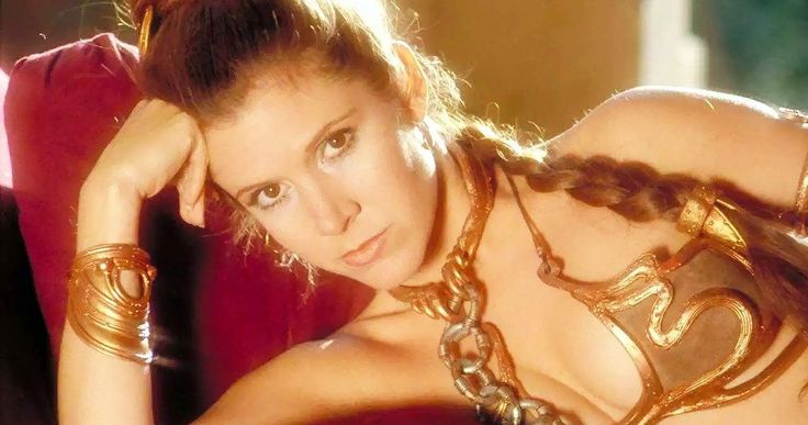 Should Lucasfilm CGI Clothes on Bikini Leia in Return of the Jedi? -- There is more of an outcry than ever before about Princess Leia's bikini-clad scenes in Return of the Jedi, with some wondering if they should be digitally altered. -- http://movieweb.com/slave-leia-bikini-cgi-clothes-star-wars-return-of-jedi/