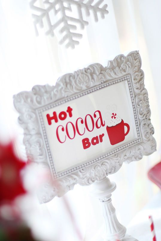 The Party Wagon - Blog - CANDY CHRISTMAS COCOABAR